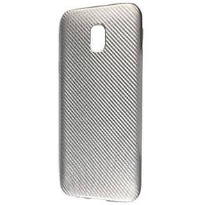 Чехол-накладка DK-Case силикон Carbon для Samsung J530 (2017) (silver)