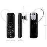 Мини Мобильный Телефон GTSTAR BM50 Black, фото 4