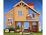 ✅Животные флоксовые Happy Family 012-03 Домик аналог Сильваниан Фемилис (Sylvanian Families), фото 2