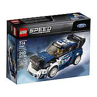 Конструктор Лего чемпионы скорости форд фиеста М-спорт LEGO Speed Champions Ford Fiesta M-Sport WRC 75885