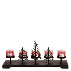 Центральный подсвечник Village Candle Металлические Деревья 95743, КОД: 1089386