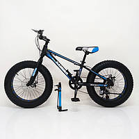 Велосипед фэт байк HAMMER EXTRIME колёса 20 дюймов алюминиевая рама