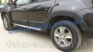 Расширители арок на Dacia Duster 2010-2018 Накладки на колесные арки Дачия Дастер 2010-2018