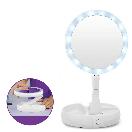 Зеркало с led подсветкой My Foldaway Mirror для макияжа с десятикратным увеличением, фото 5
