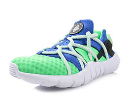 "Мужские кроссовки  Nike Huarache NM Poison ""Green/Blue/White"""