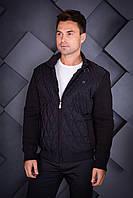 Куртка стеганая Oscar Fur 02 Черный