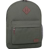 Стильный рюкзак, сумка Bagland 17л., для прогулок и спорта (хаки), фото 1