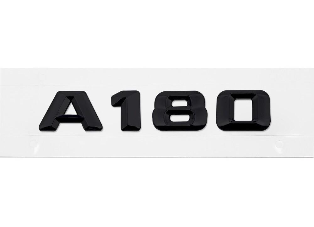 Матовая Эмблема Шильдик надпись A180 Мерседес Mercedes