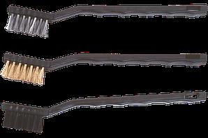 Набір дротяних щіток 180мм 3шт TopTools 14A618