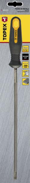 Напильник для заточки пильных цепей 200x4,8мм TOPEX 06A788