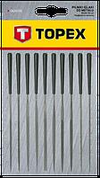 Набір надфилей по металу 10шт TOPEX 06A015