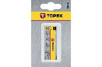 Метчики M6 набор 3шт TOPEX 14A206