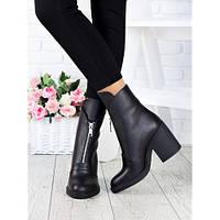 Женские кожаные ботинки ,ботинки кожаные женские весна ,ботинки кожаные женские осень ,кожаные ботильоны женск