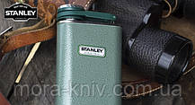Фляга STANLEY Classic 0.23 L черный, зеленый, белый (10-00837-127), фото 2