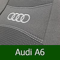 Автомобильные чехлы на Ауди А6 / Audi A6 (C5) (Nika)