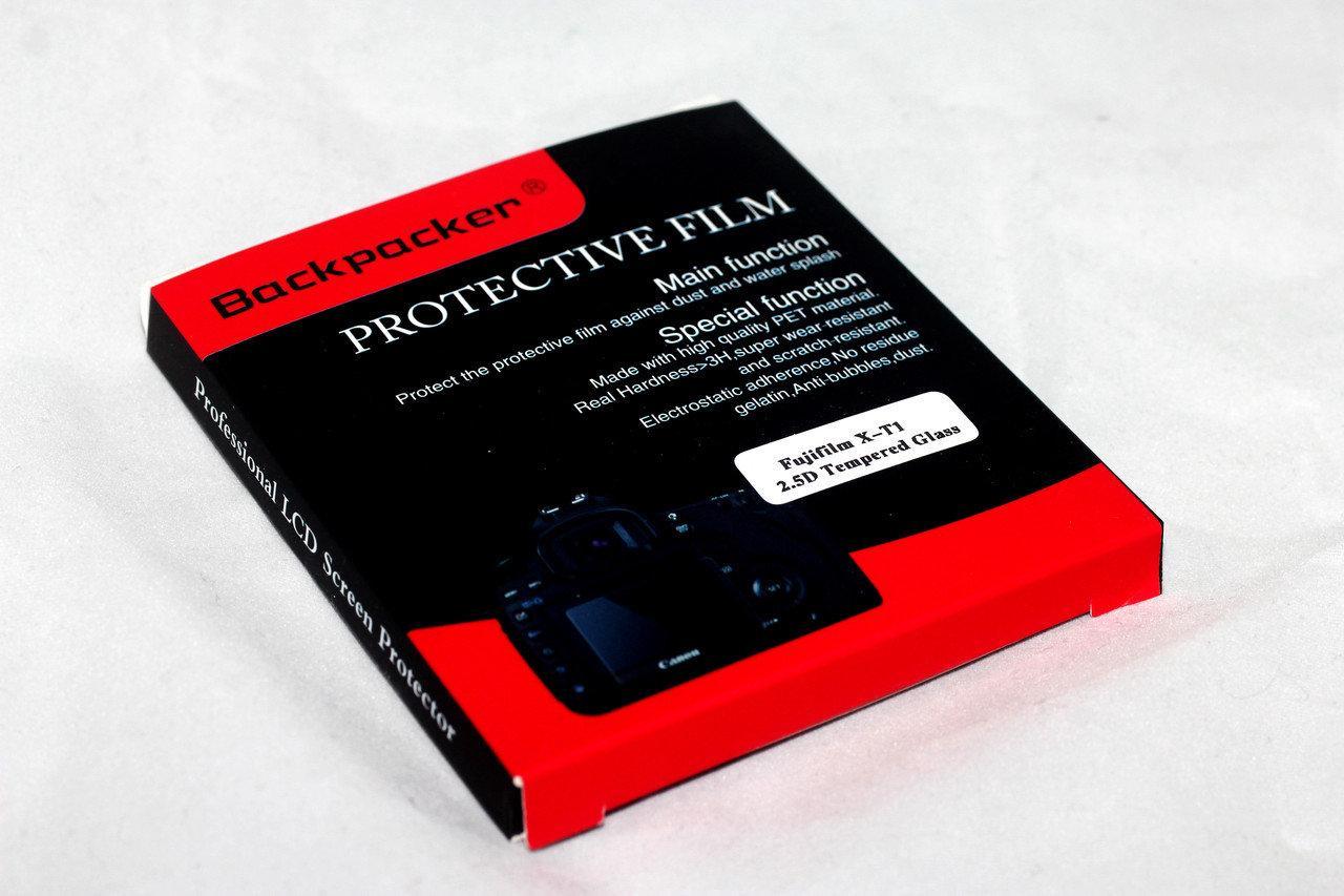 Защитное стекло Backpacker для LCD экрана фотоаппаратов Fujifilm X-T1, X-T2, X-A3, X-A5, X-A10 ( на складе )
