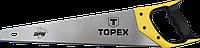 """Пила по дереву """"Shark"""" 7TPI 500 мм TOPEX 10A450"""