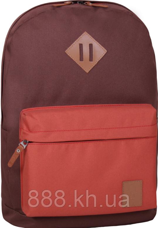 Стильный рюкзак, сумка Bagland 17л., для прогулок и спорта (коричневый)