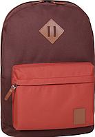 Стильный рюкзак, сумка Bagland 17л., для прогулок и спорта (коричневый), фото 1