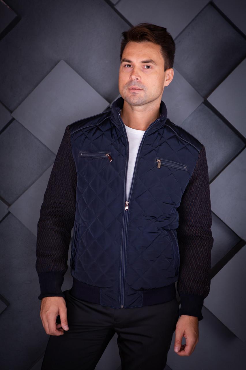Куртка демисезонная мужская Oscar Fur 01 Темно-Синий