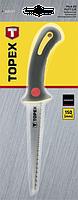 Ножовка по гипсокартону 150 мм TOPEX 10A717