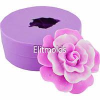 Силиконовая форма Роза Эсмеральда 3D для мыльного букета