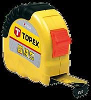 """Рулетка """"Shiftlock"""" 8 м TOPEX 27C308"""