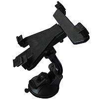 Автомобильный держатель Lesko CP-004 7-10 для планшета Черный 3017-8724а, КОД: 1073707