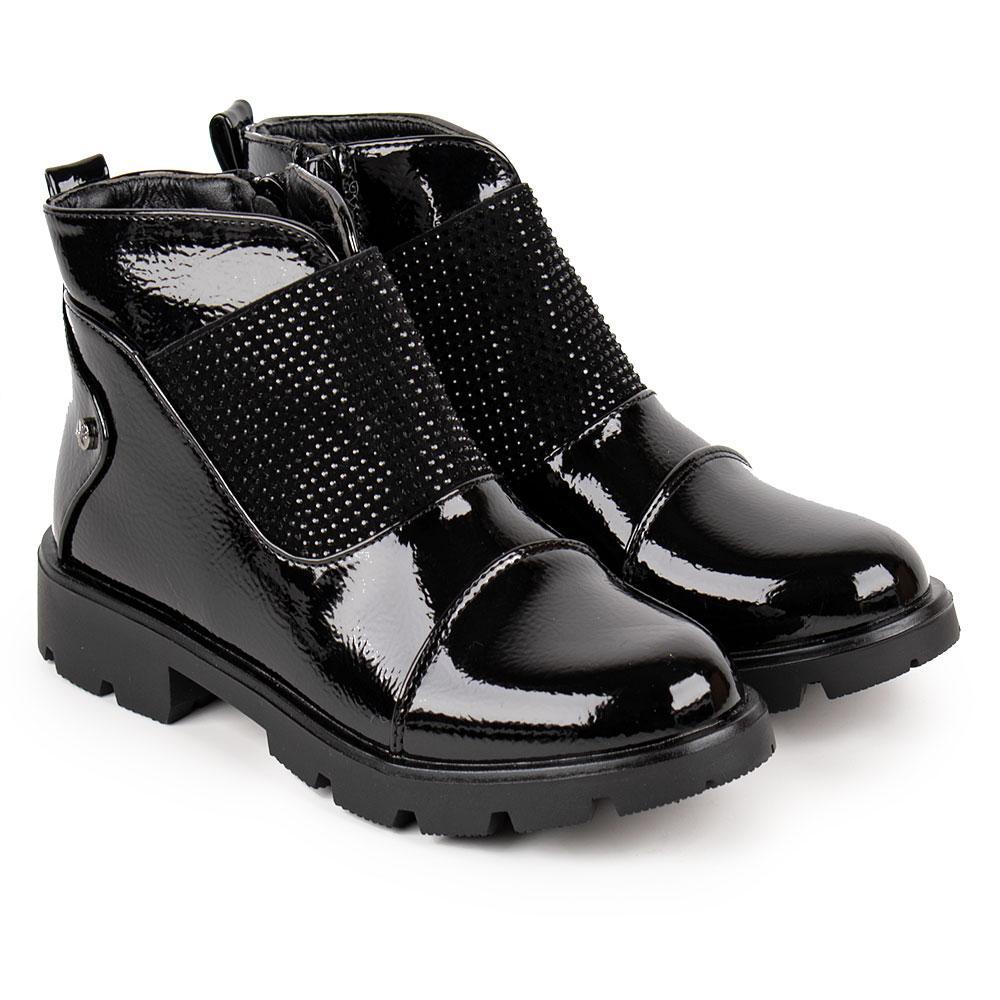 Ботинки для девочек Kimboo 34  черный 980632
