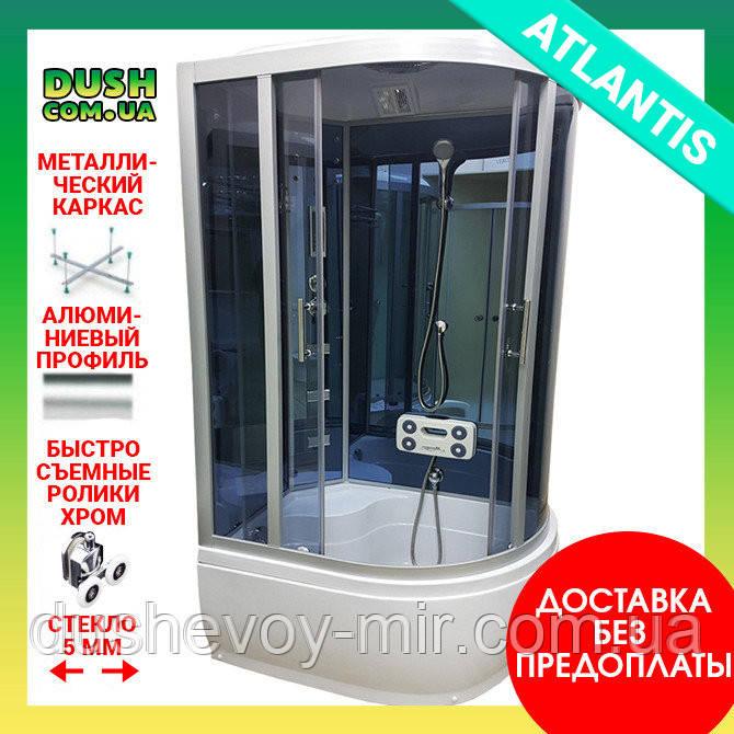 Душевой бокс ATLANTIS AKL-1315 GR L 130х85х220