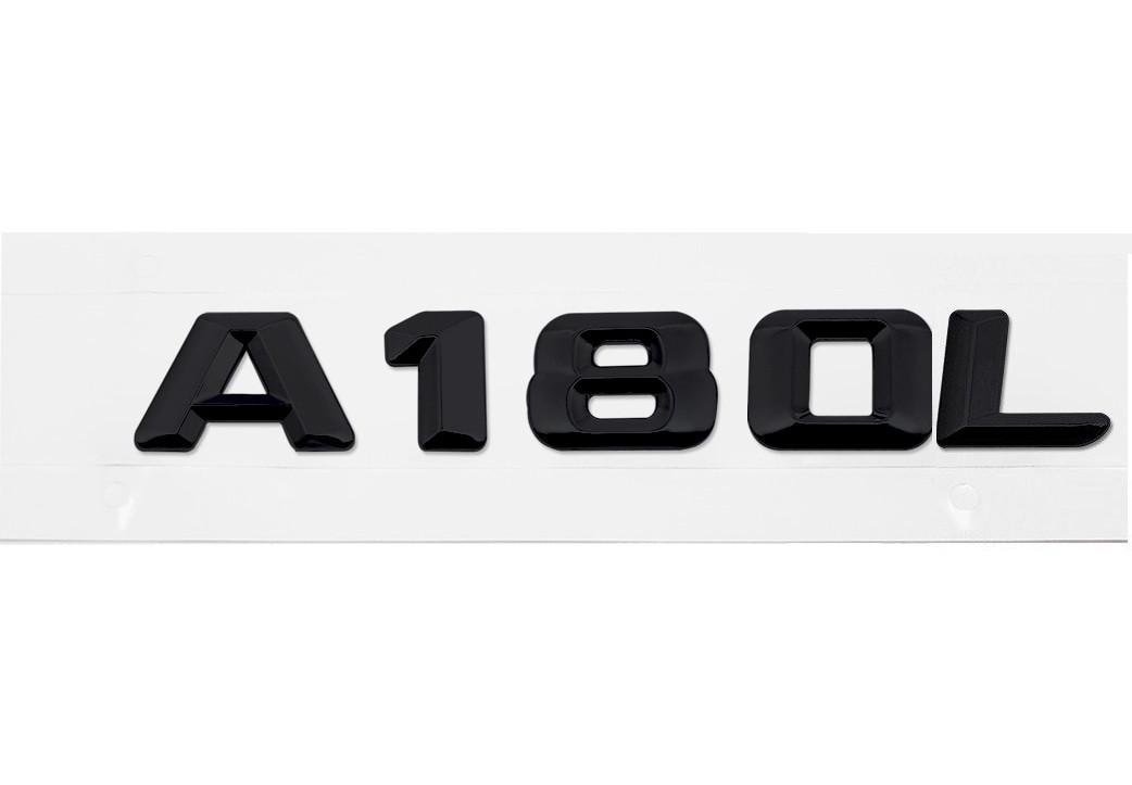 Матовая Эмблема Шильдик надпись A180L Мерседес Mercedes