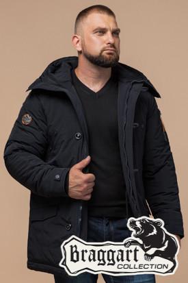 Черная мужская зимняя куртка Braggart Arctic (р. 48-56) арт. 2694 D