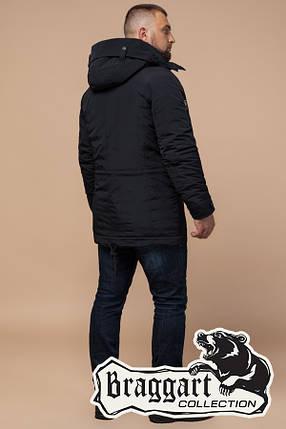 Черная мужская зимняя куртка Braggart Arctic (р. 48-56) арт. 2694 D, фото 2