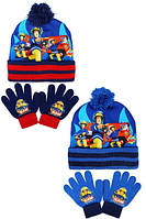 Набор шапка+перчатки детские оптом, Disney, фото 1