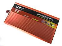 Преобразователь UKC 12V-220V AR 3000W авто инвертор c функции плавного пуска sp3053, КОД: 161758