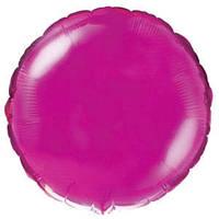 Фольгированный шар Ультра Круг 18см х 45см Пурпурный