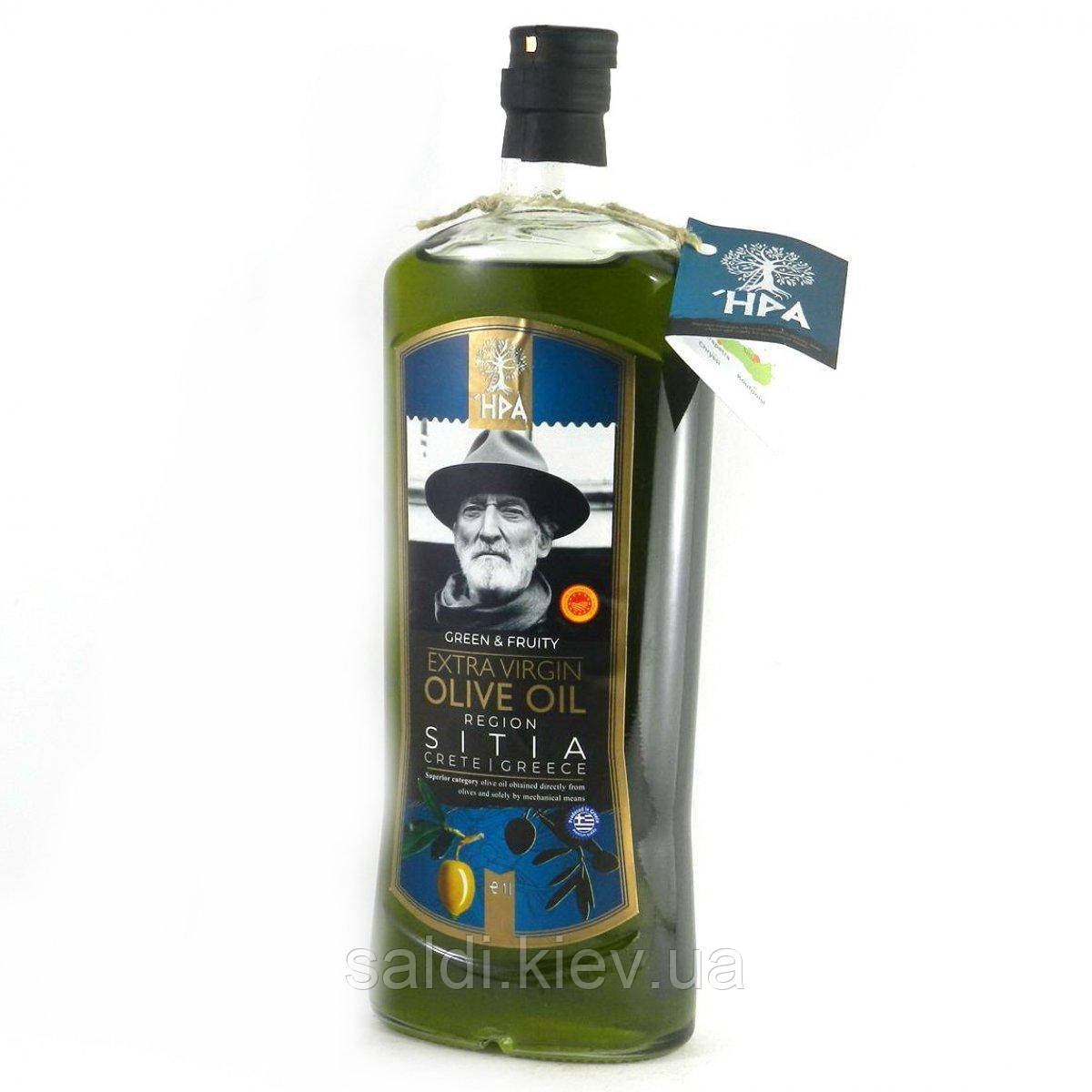 Оливковое масло холодного отжима HPA Green & Fruity extra virgin olive oil Region Sitia