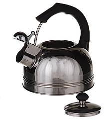 Чайник из нержавеющей стали А-Плюс 1324 со свистком 2.5 л 45152, КОД: 171029