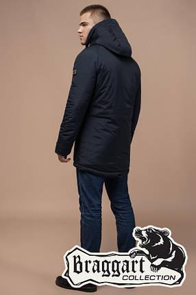 Мужская теплая зимняя куртка-парка (р. 46-54) арт. 3587Q, фото 2