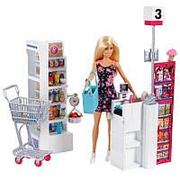Кукольный набор Barbie I can be В супермаркете (FRP01)