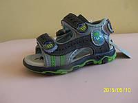Босоножки сандалии на мальчика 23 размер. Детская летняя обувь. Обувь для мальчика