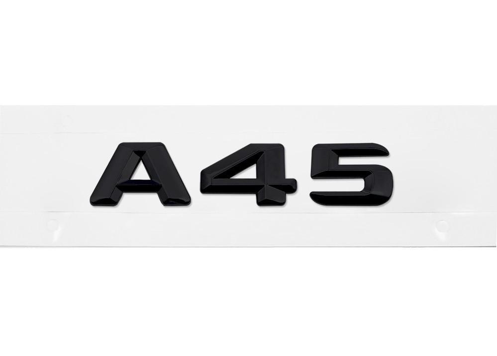 Матовая Эмблема Шильдик надпись A45 Мерседес Mercedes