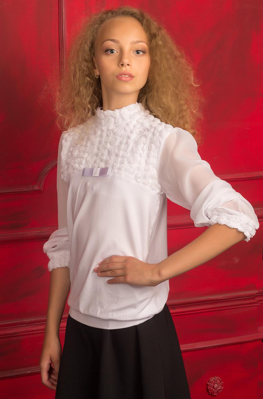 Нарядные блузки для девочек доставка