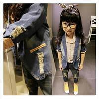 Джинсовый жакет для маленькой модницы р. 80-130, фото 1