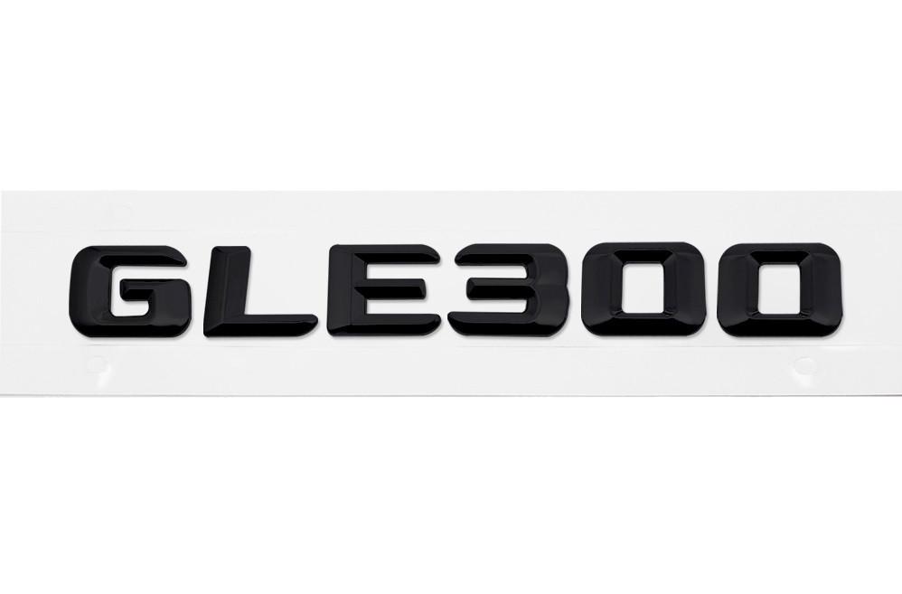 Матовая Эмблема Шильдик надпись GLE300 Мерседес Mercedes
