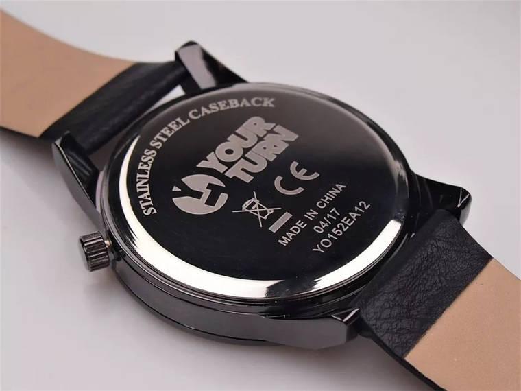 Чоловічий годинник Your Turn YO152EA12 Black, фото 2