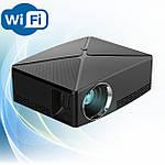 Проектор мультимедийный с Wi-Fi кинопроектор видеопроектор Wi-light C80 Проектор для дома Оригинал, фото 2