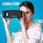 Проектор мультимедийный с Wi-Fi кинопроектор видеопроектор Wi-light C80 Проектор для дома Оригинал, фото 4