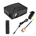 Проектор мультимедийный с Wi-Fi кинопроектор видеопроектор Wi-light C80 Проектор для дома Оригинал, фото 6