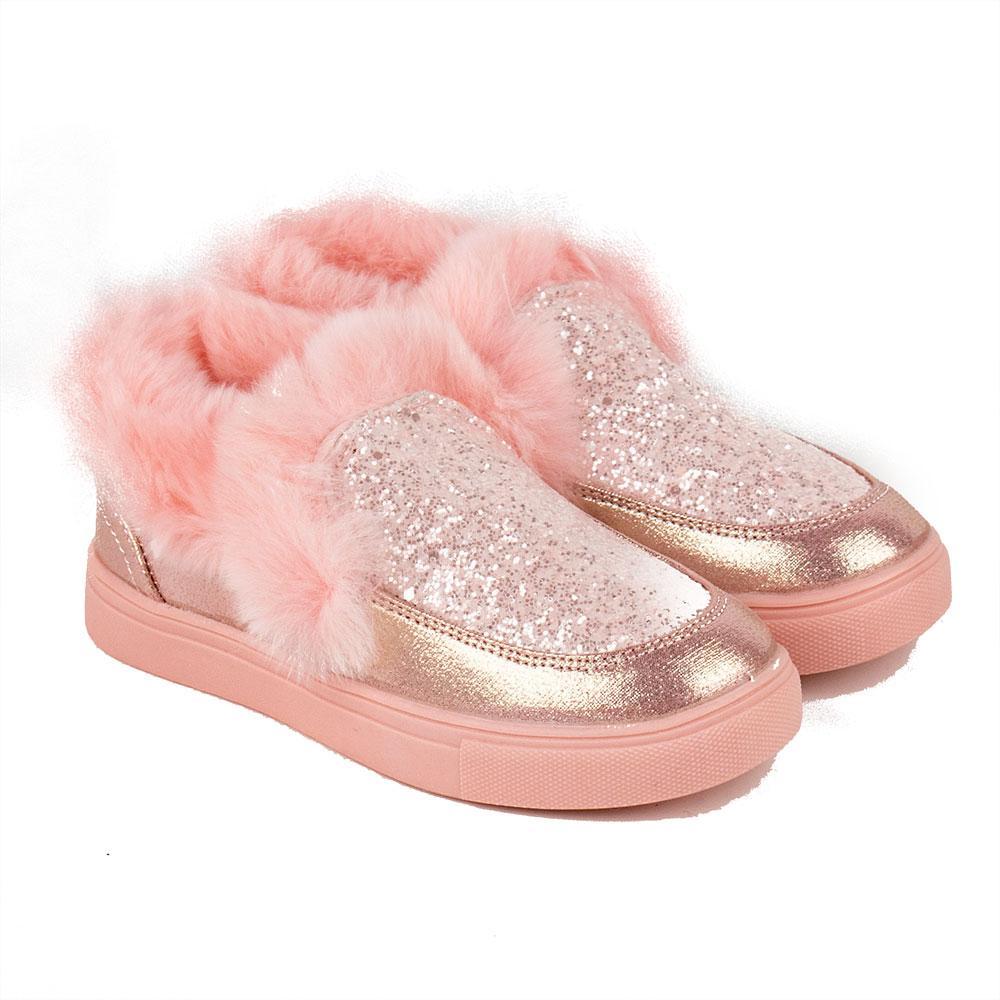 Ботинки для девочек Kimboo 27  розовый 980643